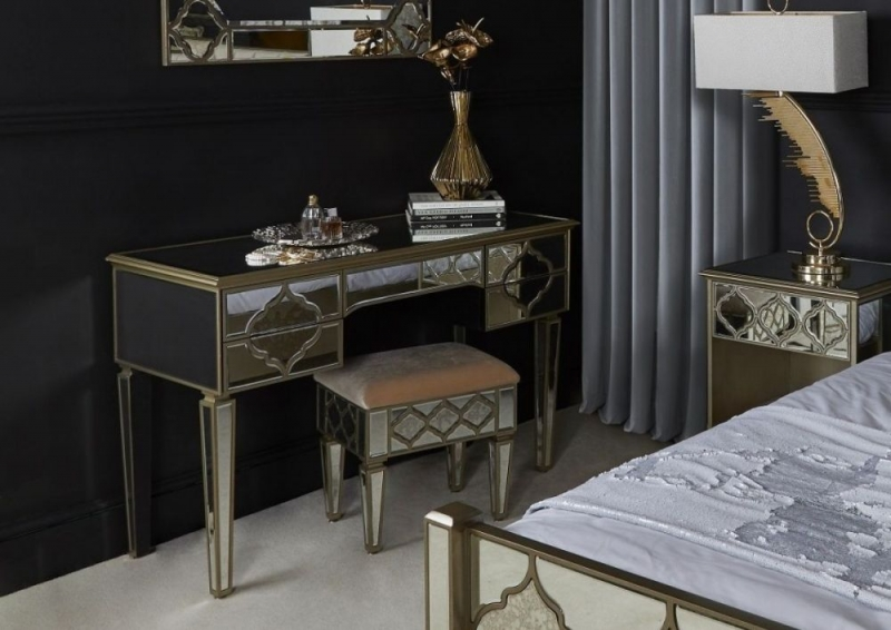 Morocco Mirrored Dressing Table