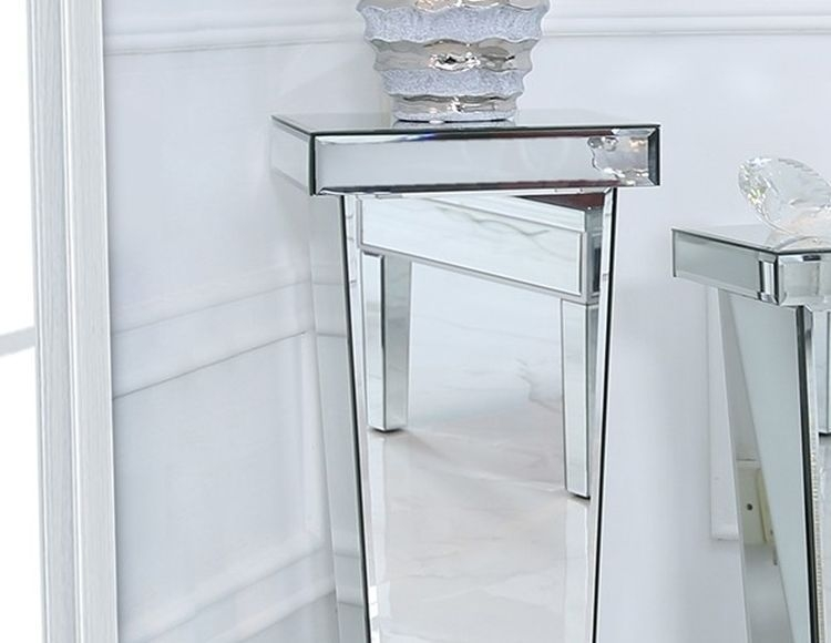 Paolo Mirrored Large Pedestal
