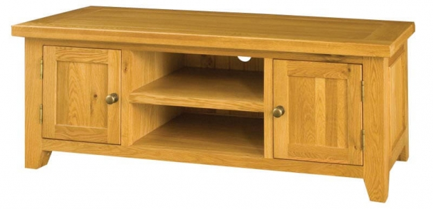 Michigan Oak TV Unit - 2 Doors