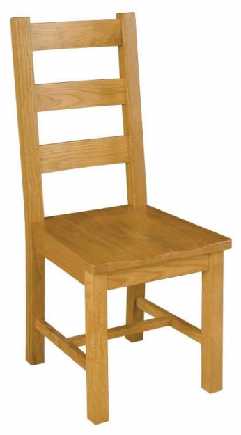Michigan Oak Dining Chair (Pair)