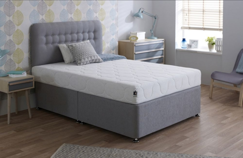 Breasley UNO 1000 Pocket Spring 20cm Ortho Deep Mattress with Fresche Technology - 4ft 6In Double