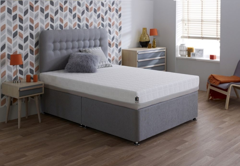 Breasley UNO 1000 Memory Pocket Spring 20cm Deep Mattress with Adaptive and Fresche Premium Knitted - 4ft 6in Double