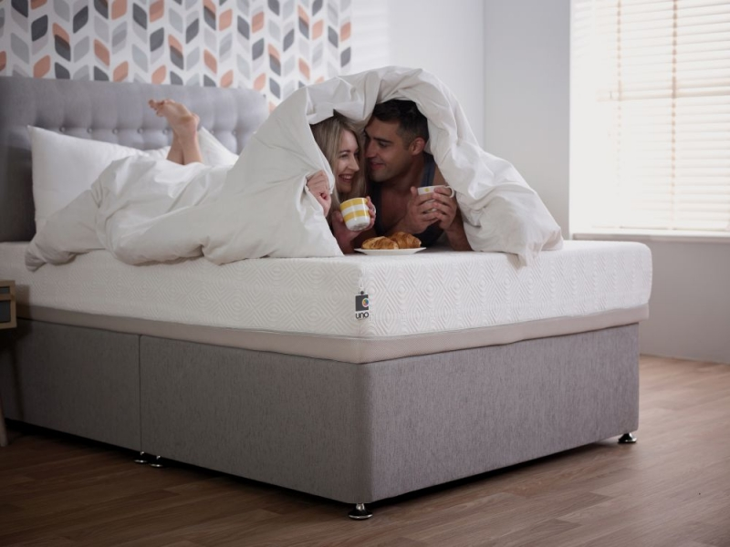 Breasley UNO 1000 Memory Pocket Spring 20cm Deep Mattress with Adaptive and Fresche Premium Knitted - 5ft King Size