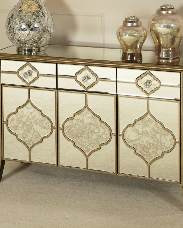 Morocco Mirrored Sideboard
