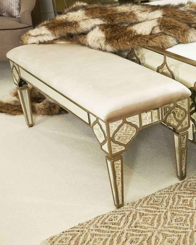 Morocco Mirrored Bench