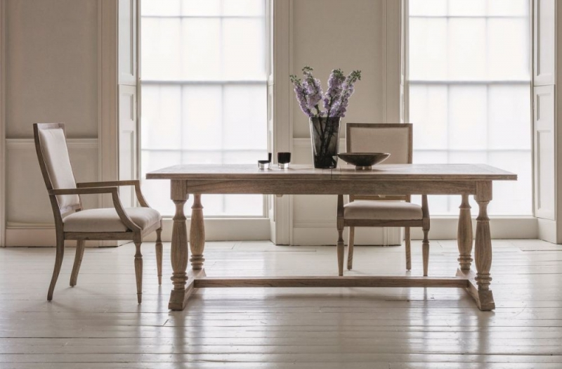 Hudson Living Mustique Extending Dining Table and 4 Chairs