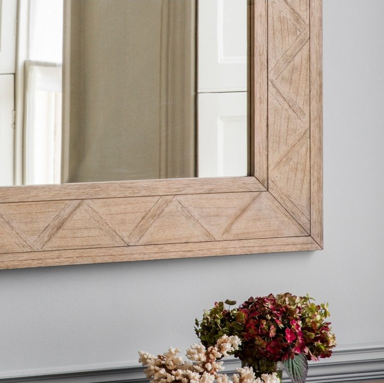 Hudson Living Mustique Rectangular Mirror - 110cm x 90cm