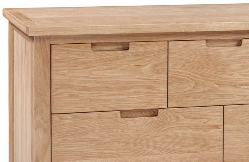 Homestyle GB Moderna Oak 4+3 Drawer Chest