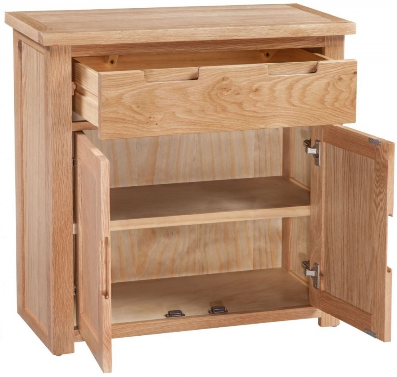Homestyle GB Moderna Oak Occasional Cupboard
