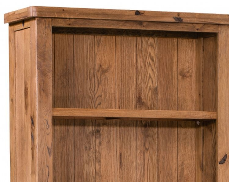 Homestyle GB Aztec Oak Large Bookcase