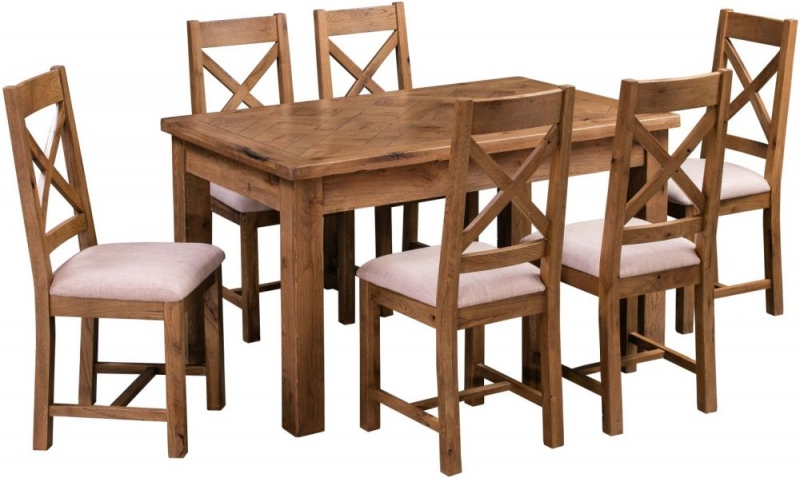 Homestyle GB Aztec Oak Dining Table