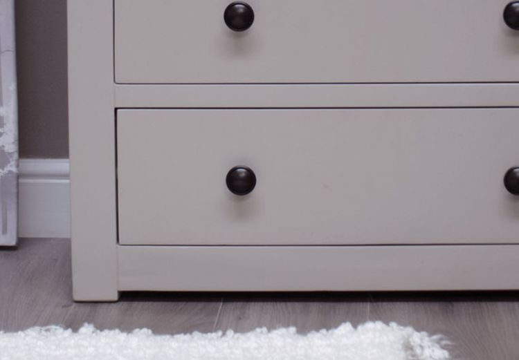 Homestyle GB Diamond Painted 2+2 Drawer Chest