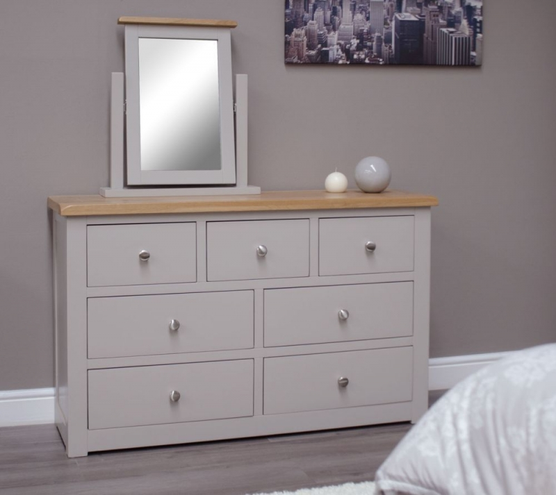 Homestyle GB Diamond Painted 4+3 Drawer Chest