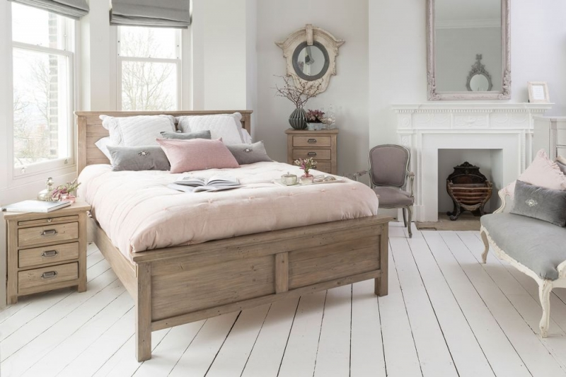 Willis and Gambier West Coast Pine Bed -  Low Foot End