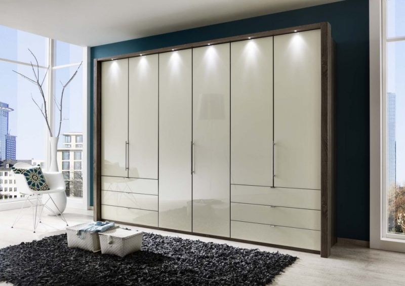buy wiemann loft bi fold panorama door functional wardrobe with glass front online cfs uk. Black Bedroom Furniture Sets. Home Design Ideas