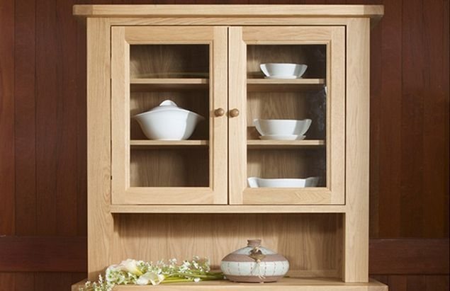 Charltons Bretagne Oak Small Dresser Top