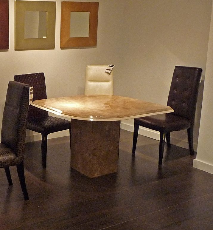 Stone International Leaf Marble Dining Table