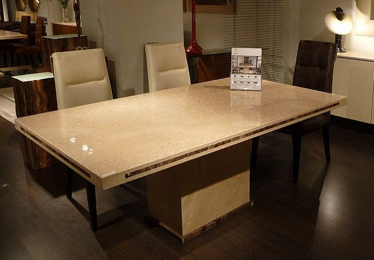 Stone International Paris Marble Dining Table Cfs