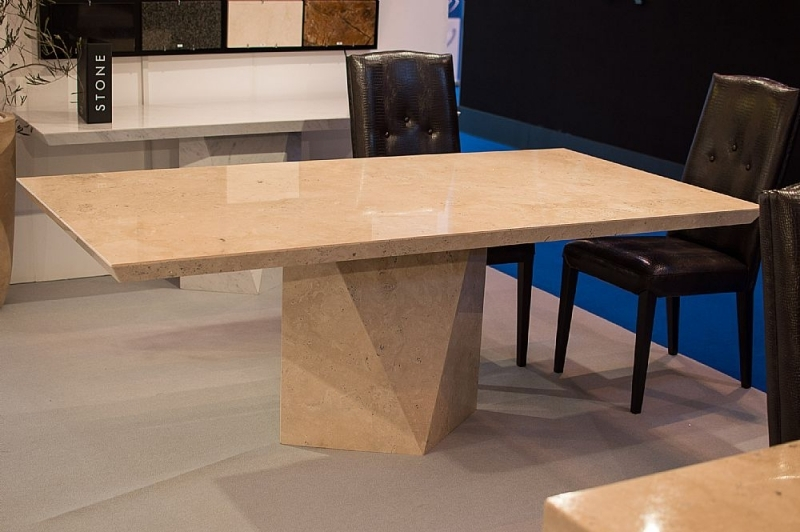 Stone International Freedom Marble Dining Table