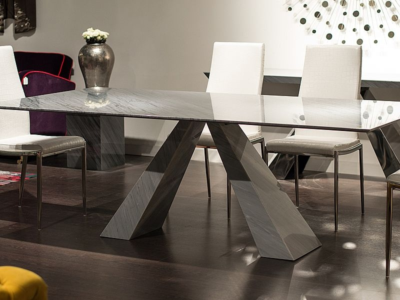 Stone International Butterfly Marble Dining Table