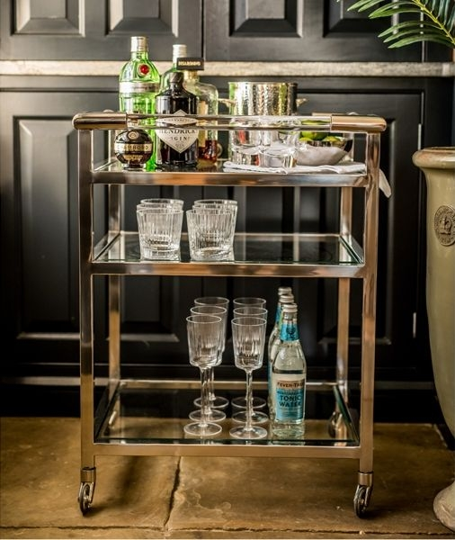 Culinary Concepts Deco Art Drinks Trolley