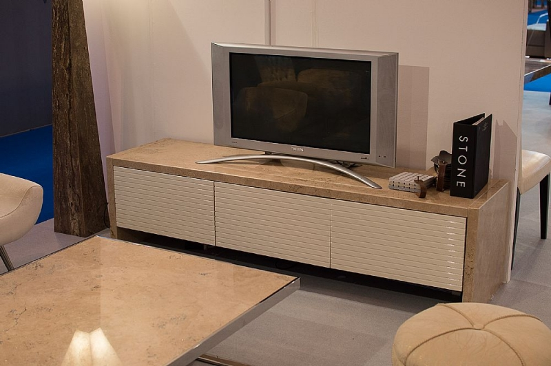 Stone International Marble TV Unit