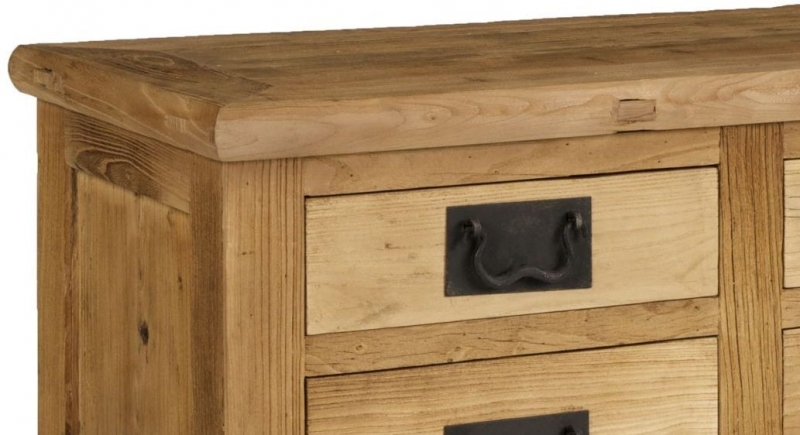 Boston Reclaimed Wood Small Hall Cabinet