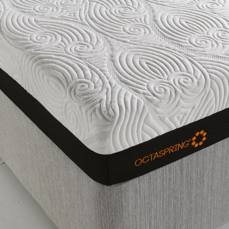 Dormeo Octaspring Revive Ottoman Fabric Divan Bed with 5500 Mattress