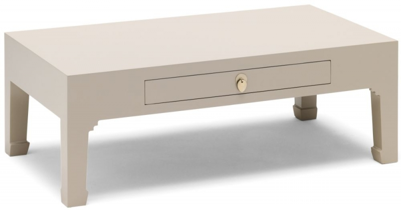 Baumhaus The Nine Schools Qing Chinese Oyster Grey Storage Coffee Table
