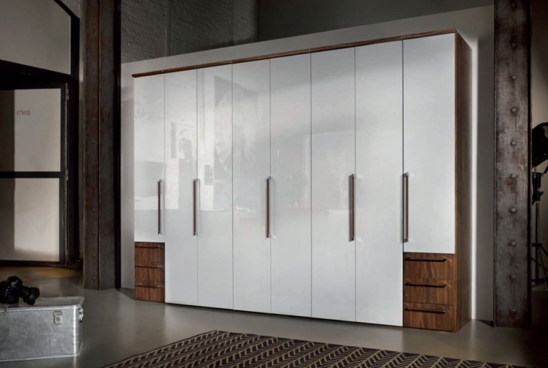 buy nolte horizont 7000 folding wardrobe with high gloss. Black Bedroom Furniture Sets. Home Design Ideas