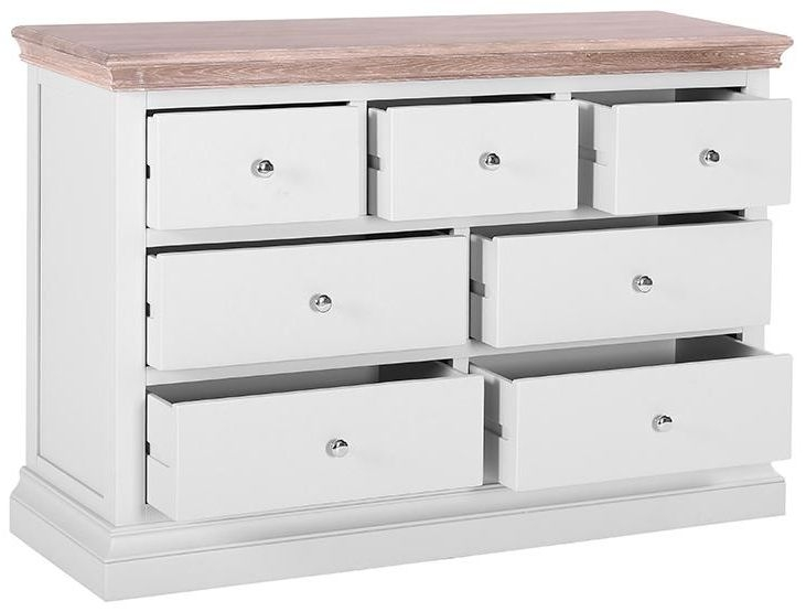Rosa Painted 4+3 Drawer Chest