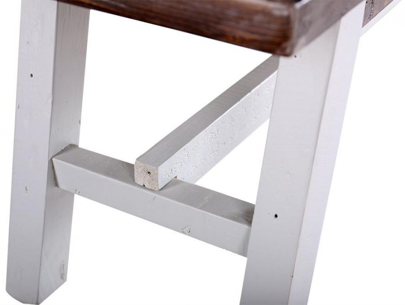 Hamptons Painted Dining Bench