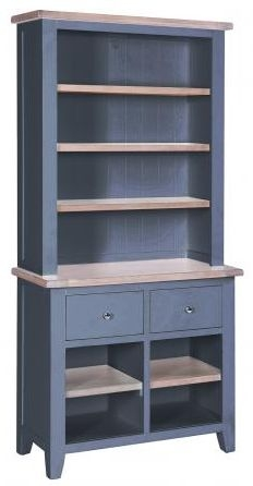 Chalked Oak and Downpipe Hutch