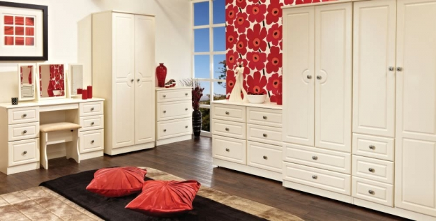 Pembroke White Bed Box - 4 Drawer