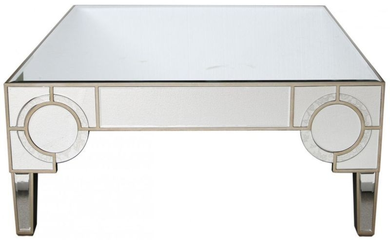 Angelo Mirrored Coffee Table