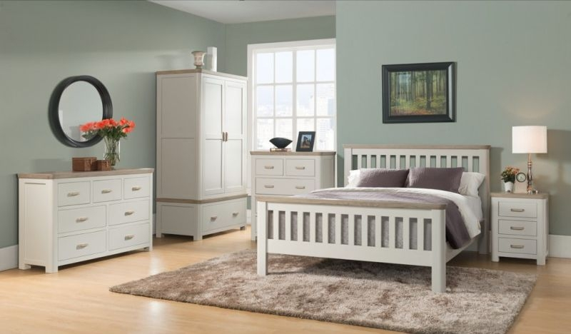a795d4f49f3 Buy Treviso Painted 3+4 Drawer Chest Online - CFS UK