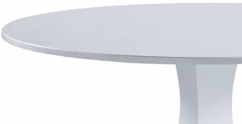 Compton Grey Painted 120cm Round Pedestal Dining Table