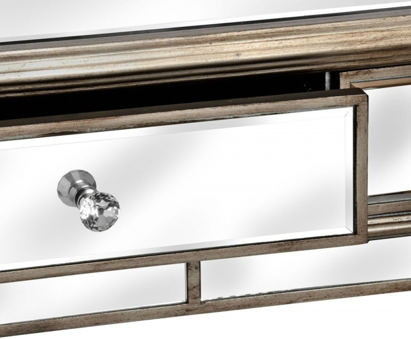 Hill Interiors Belfry Mirrored Console Table