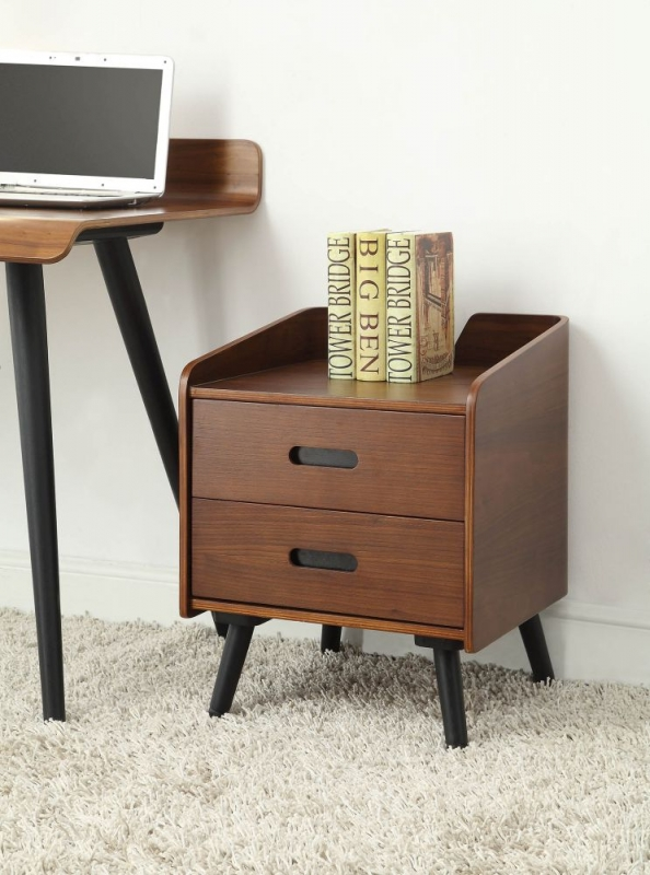 Jual Vienna Walnut 2 Drawer Pedestal PC610