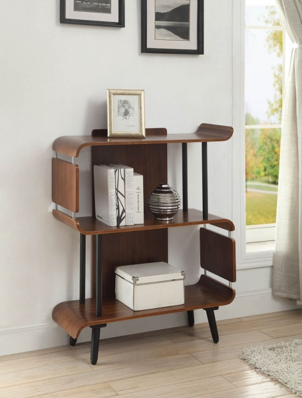short shelves natural low profile long three wooden bookshelves of shelving with and double image bookcase