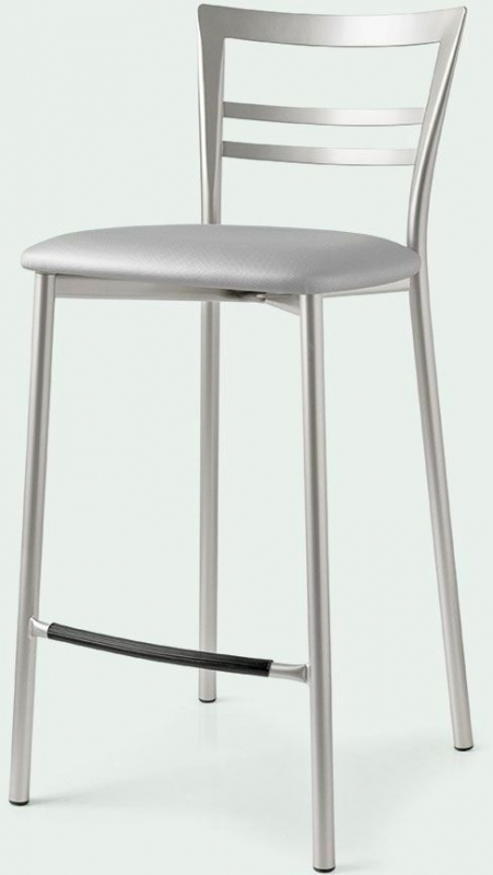 Connubia Go Metal Bar Stool with Footrest (Pair)