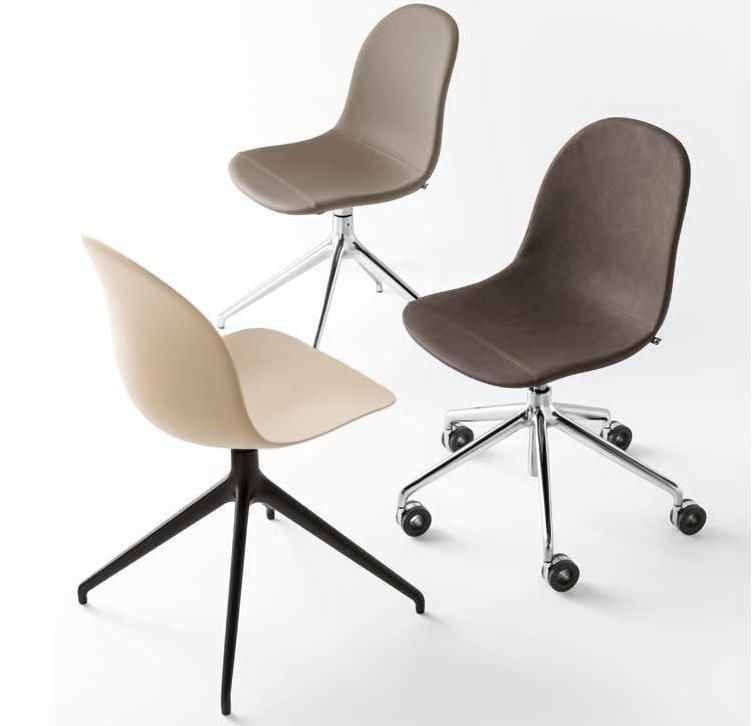 Connubia Academy Upholstered Swivel Dining Chair CB1694-RLB 180
