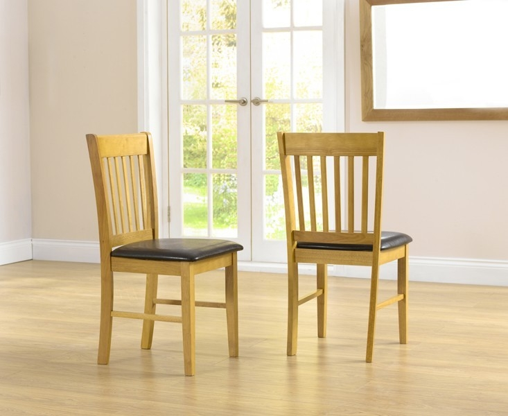 Mark Harris Alaska Oak Butterfly Extending Dining Table and 2 Chairs