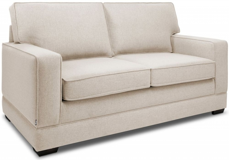Jay-Be Modern Pocket Sprung Sofa Bed - Mink Fabric