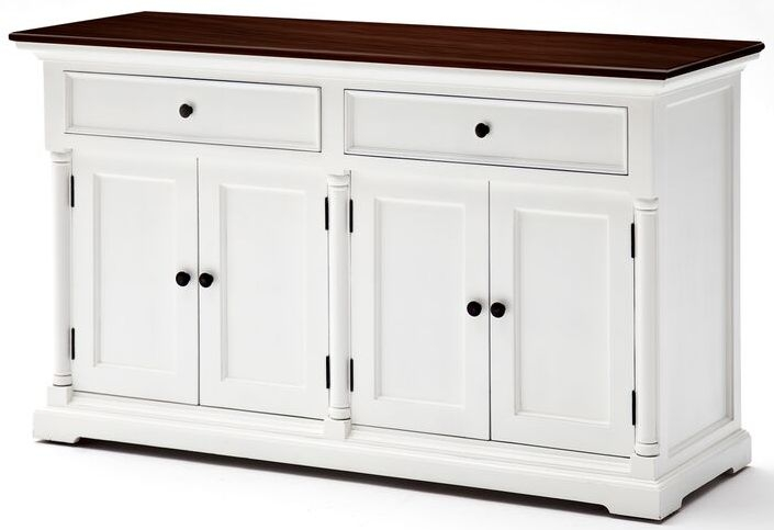 Nova Solo Provence Accent Basic Buffet - White and Brown