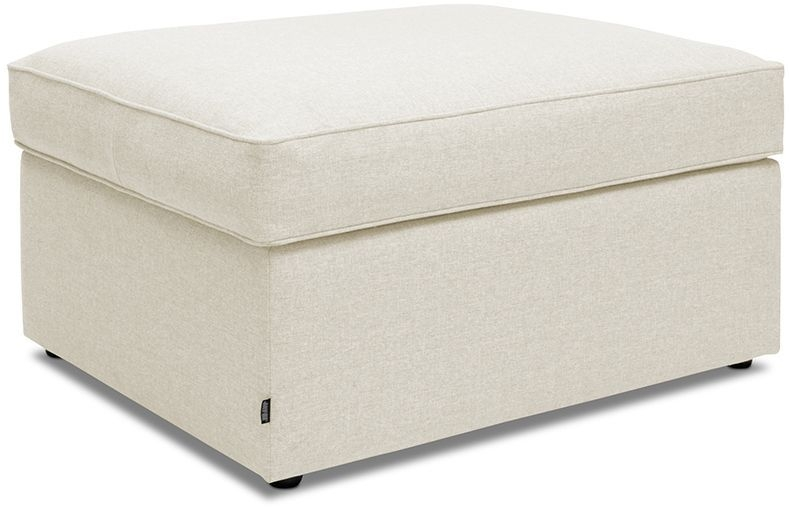 Jay-Be Footstool Airflow Fibre Mattress Bed - Cream Fabric