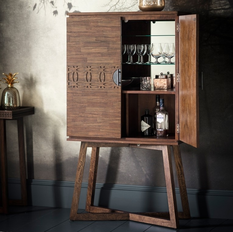 Gallery Direct Boho Retreat Cocktail Cabinet