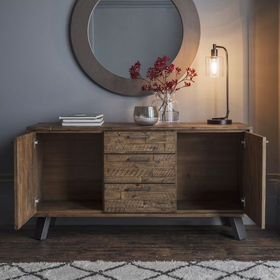 Gallery Direct Camden Sideboard - Rustic