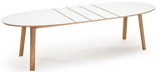 Buy skovby sm20 ellipse dining table 6 to 10 seater for 10 seater dining table uk