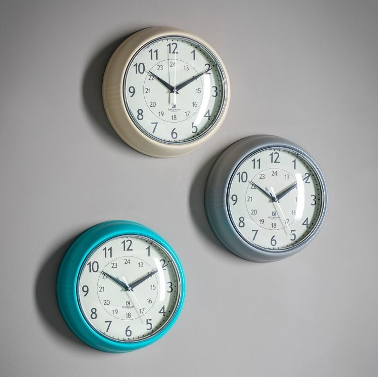 Gallery Direct Barbican Slate Clock (Set of 4)